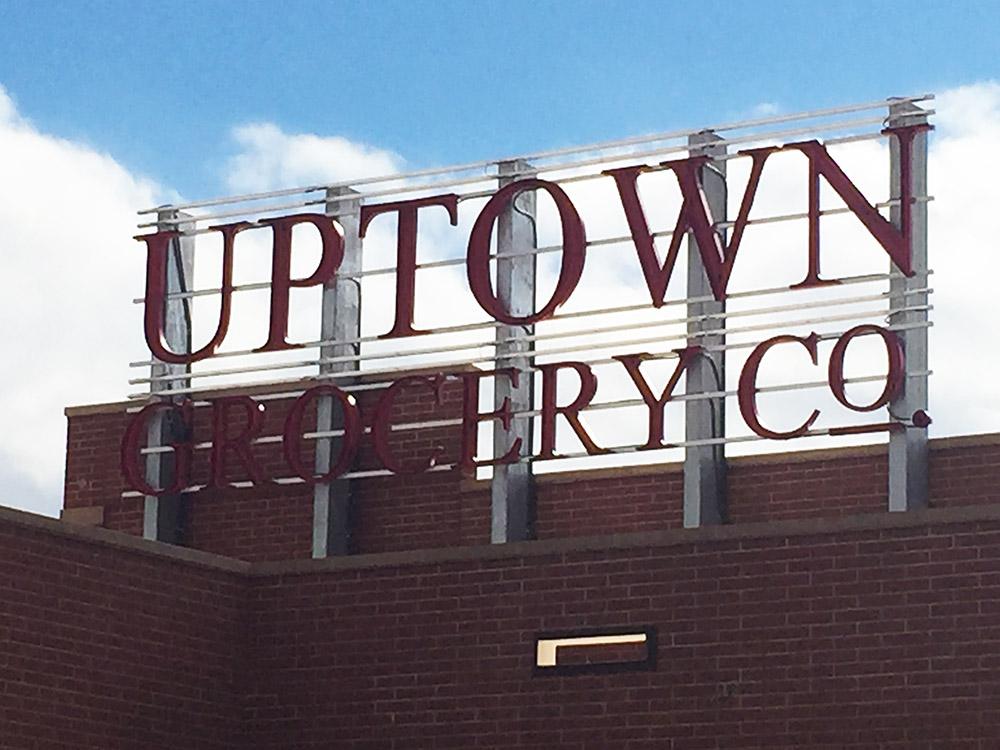 exterior - Uptown neon