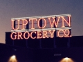 exterior - Uptown neon night