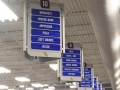 interior - Uptown aisle signs