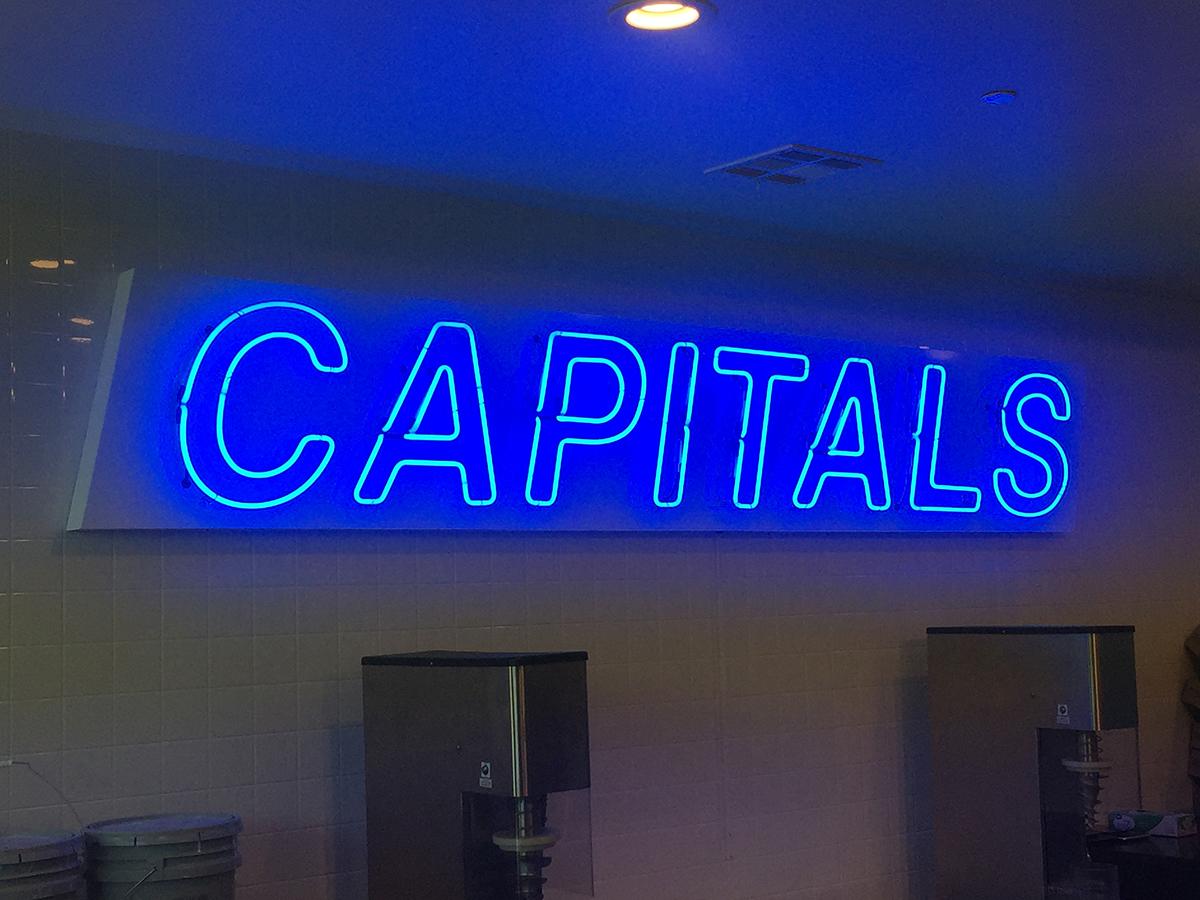 misc - Capitals neon