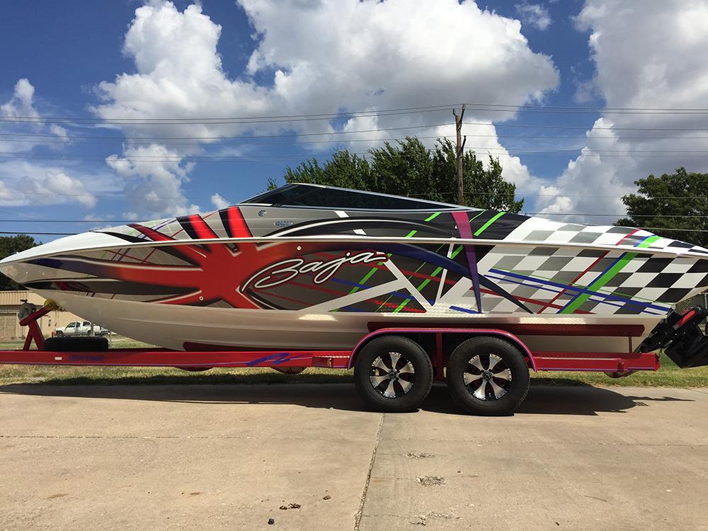 wraps - boat wrap